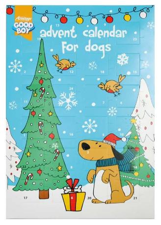 Julekalender til hunde og hvalpe